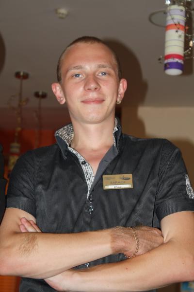 Резюме - бармен